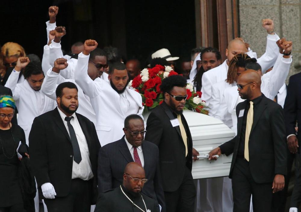 Philando Castile funeral pall bearers