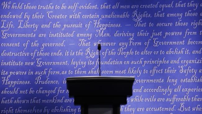 declaration-of-independence-as-backdrop-to-debate