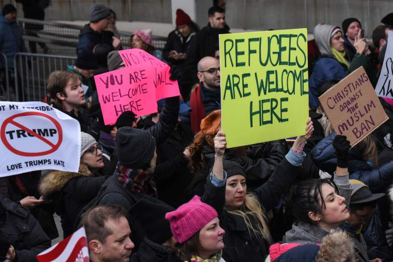protest-after-refugee-ban