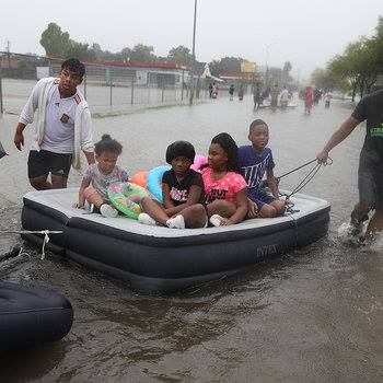 Houston in wake of Hurricane Harvey