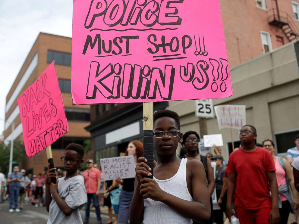 St Louis protest anthony Smith killing