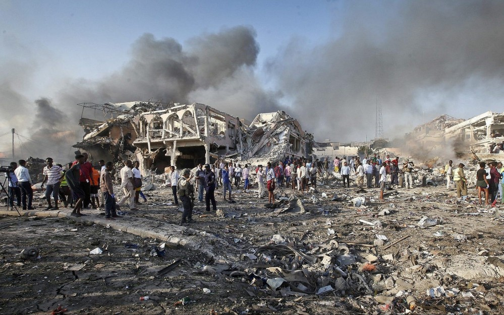 Mogadishu terror attack October 2107