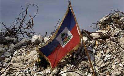 haiti flage arthquake