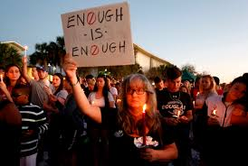 Marjory Stoneman Douglas High vigil after mass killing of 17