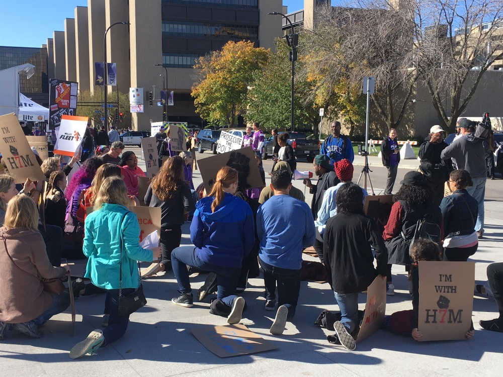 Take a Knee rally Oct 22 2017 no 1