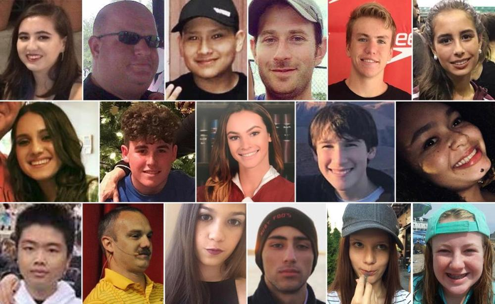 victims of the Marjory Stoneman Douglas shooting