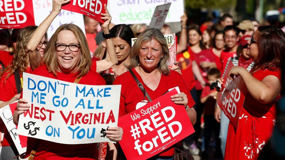 North Carolina teachers strike