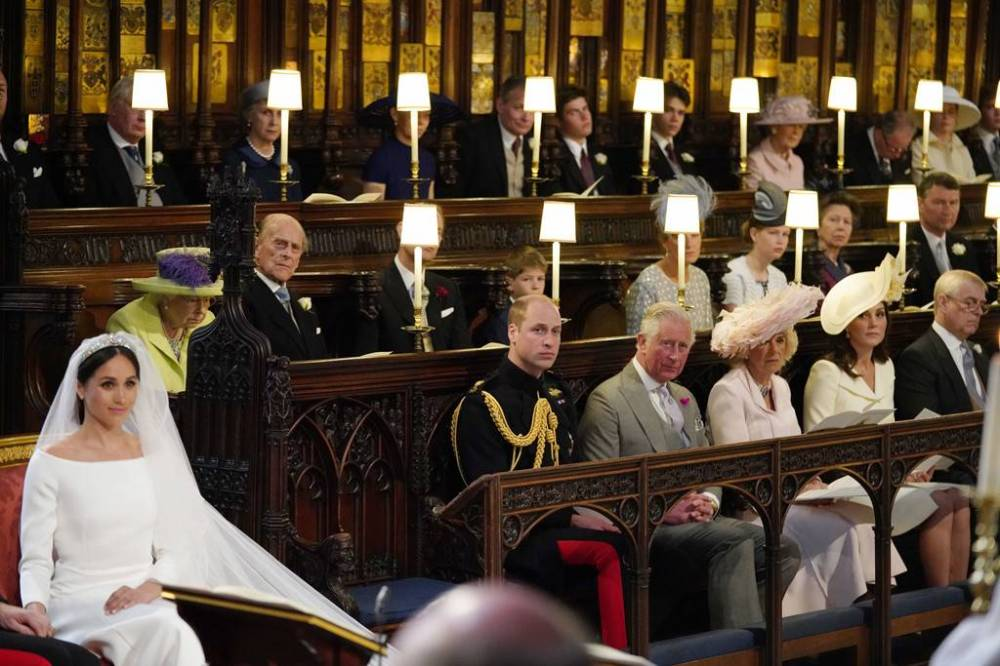 royal wedding empty seat